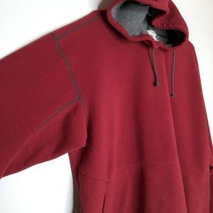 Columbia Hoodie Fleece Flannel lined Unisex XL
